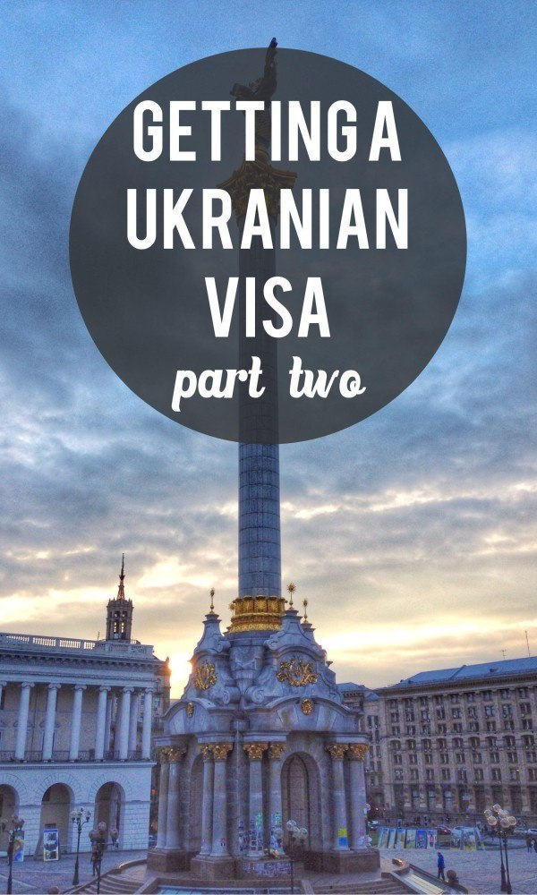Ukrainian visa problems