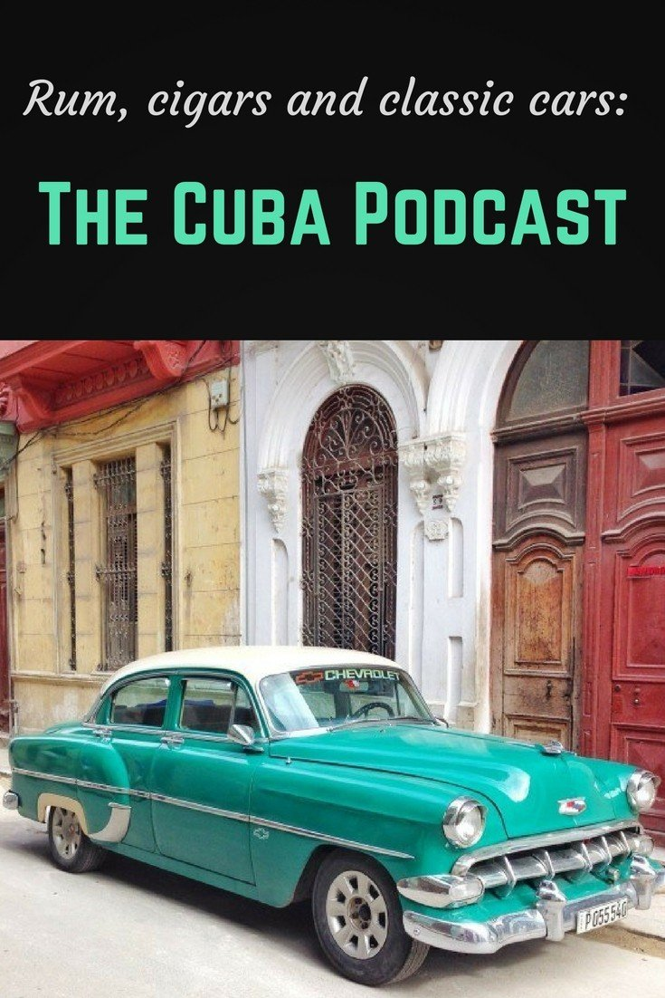 Cuba podcast pinterest pin