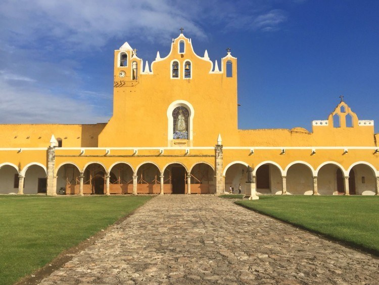 Izamal, Mexico's yellow city.