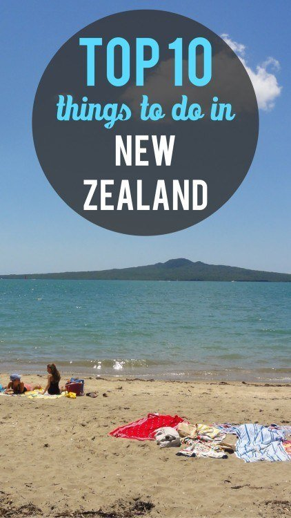 New Zealand top ten pinterest pin