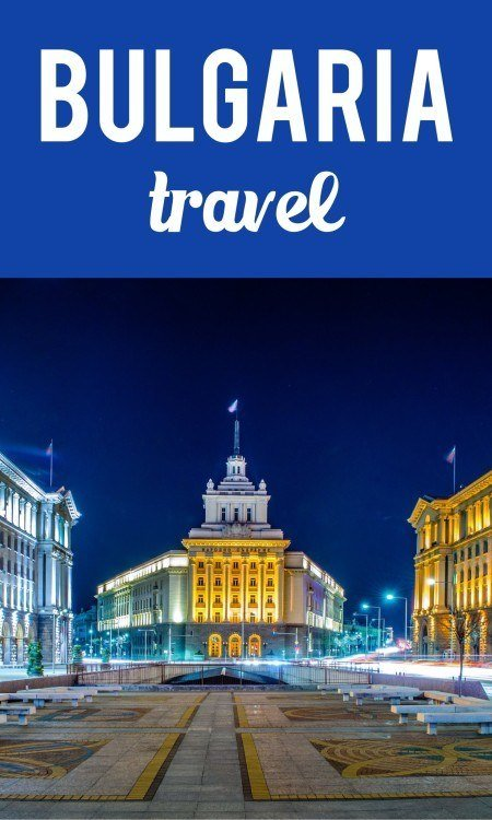 Bulgaria travel pin