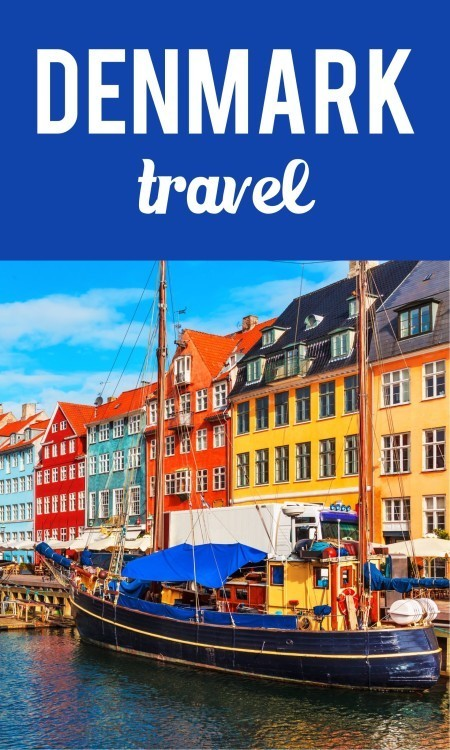 Denmark travel pin