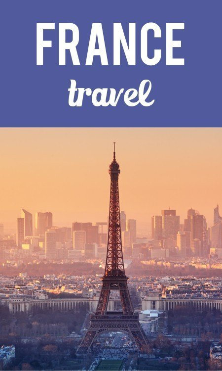 France travel pin