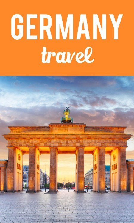 Germany travel pin