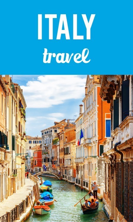 Italy travel pin