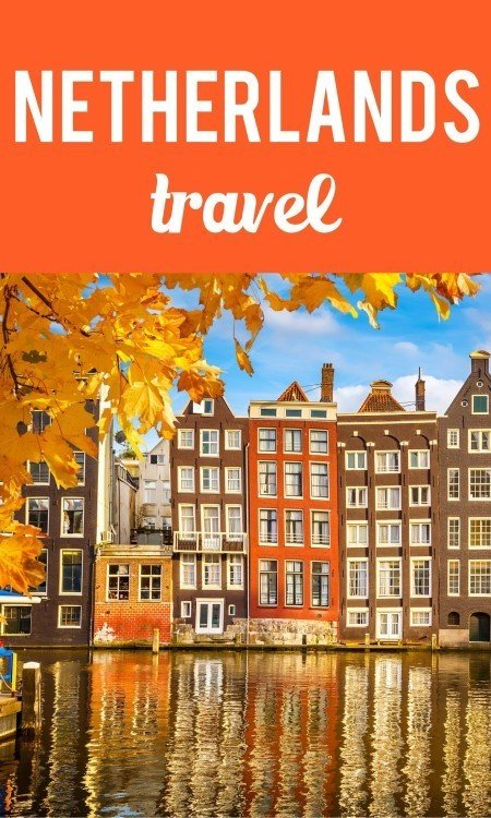 Netherlands travel Pinterest pin