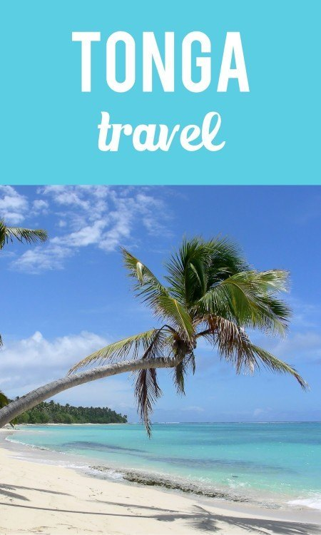 Tonga travel pinterest pin