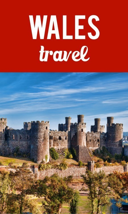 Wales travel pinterest pin