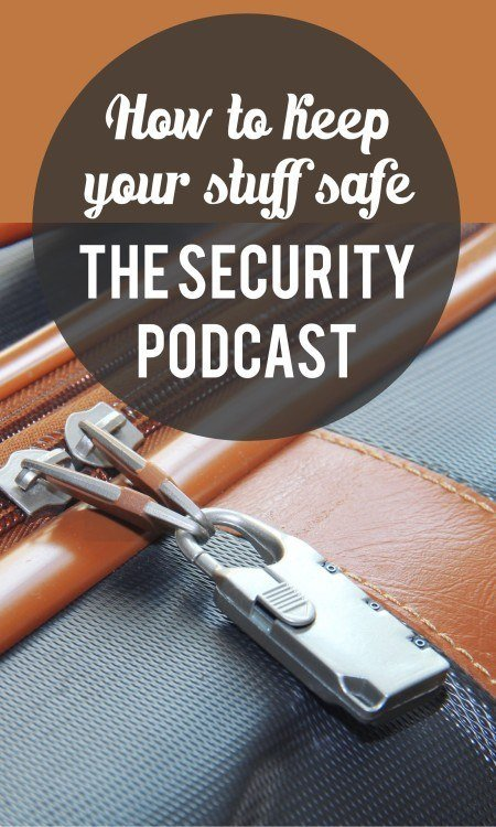 Travel security pinterest pin