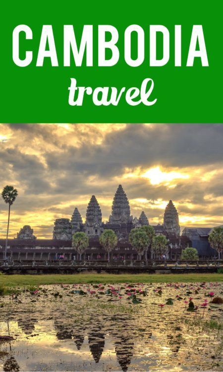 Cambodia travel Pinterest pin
