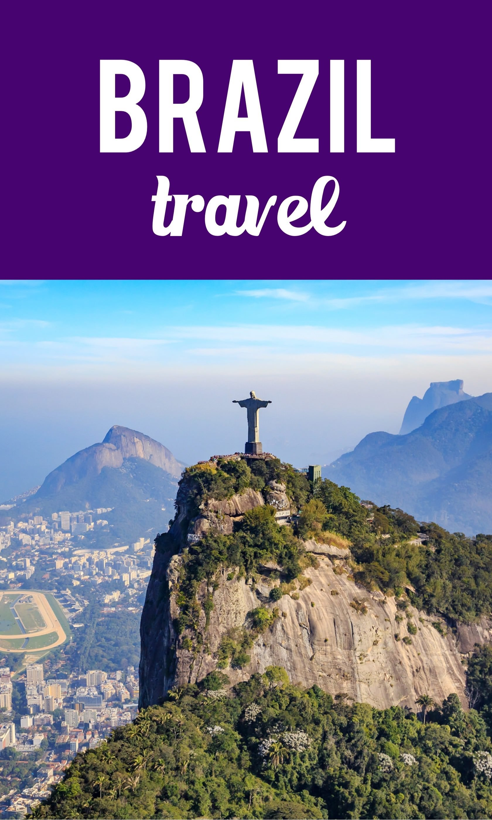 Brazil travel Pinterest pin