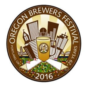 Oregon beer festival logo
