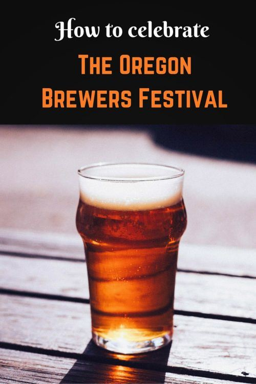 Oregon brewers festival beer pin