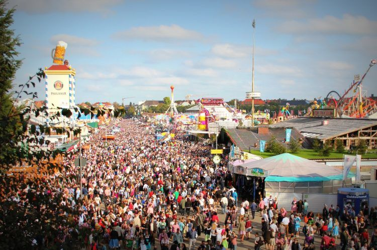 It's really mostly about beer, but there are plenty of other things to do at Oktoberfest!
