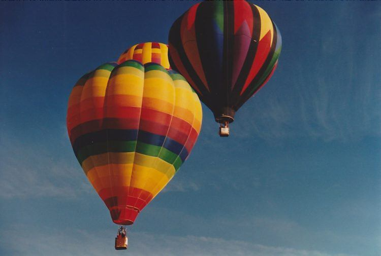 Seeing the balloons fly away is an experience to share!