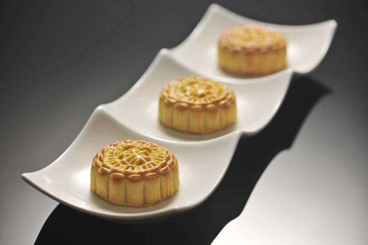 An important part of the mooncake festival is... eating mooncakes.