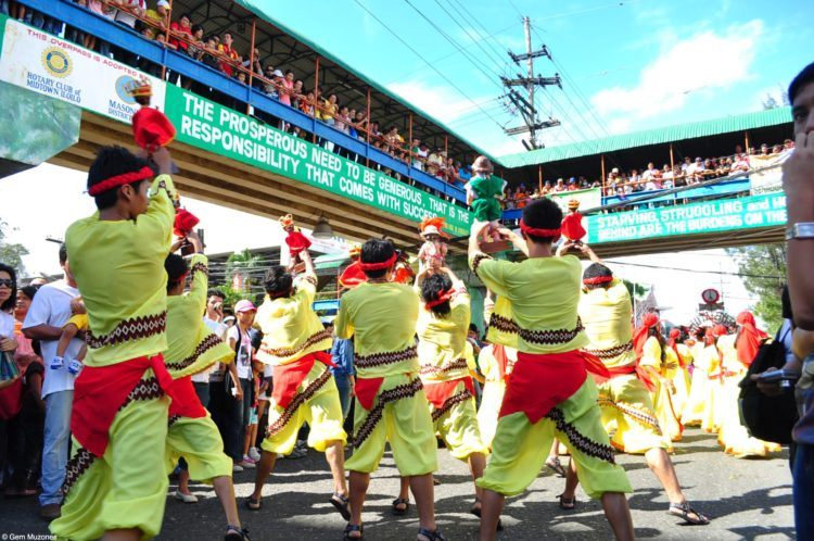Get into the colours of the Dinagyang Festival!