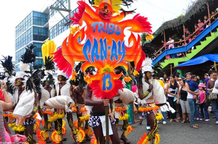 The procession is the biggest event of the festival.