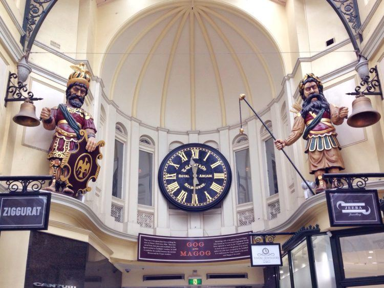 Gog and Magog on Context Coffee tour of Melbourne Australia