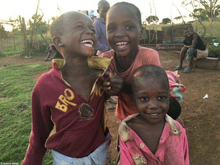 Village children in Swaziland, Africa