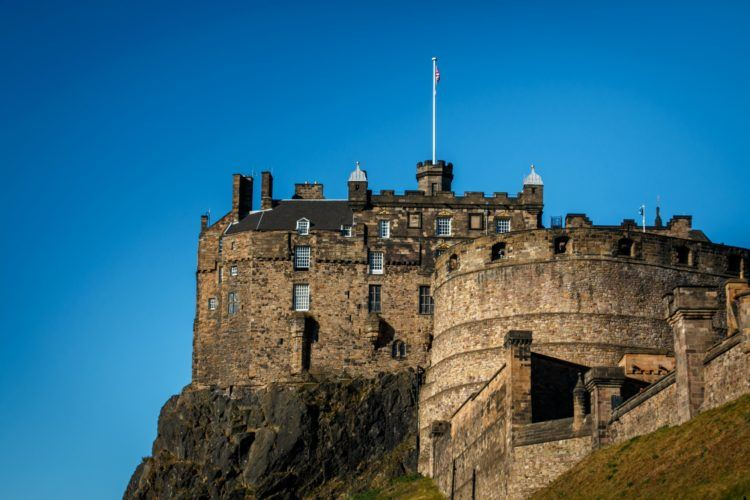 Edinburgh Castle at the Edinburgh Fringe Festival