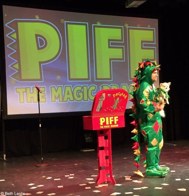 Piff the Magic Dragon at the Edinburgh Fringe Festival