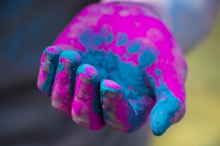 Holi India festival