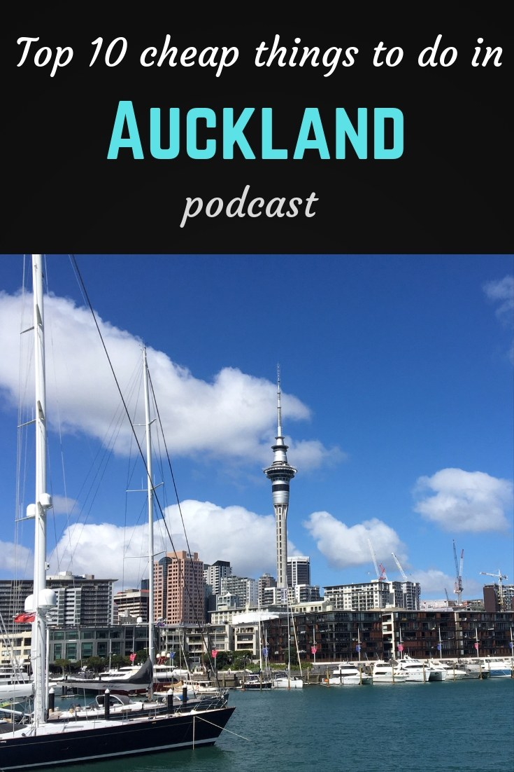 Top 10 Auckland Pinterest pin