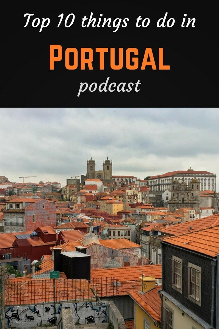 Top 10 Portugal Pinterest pin