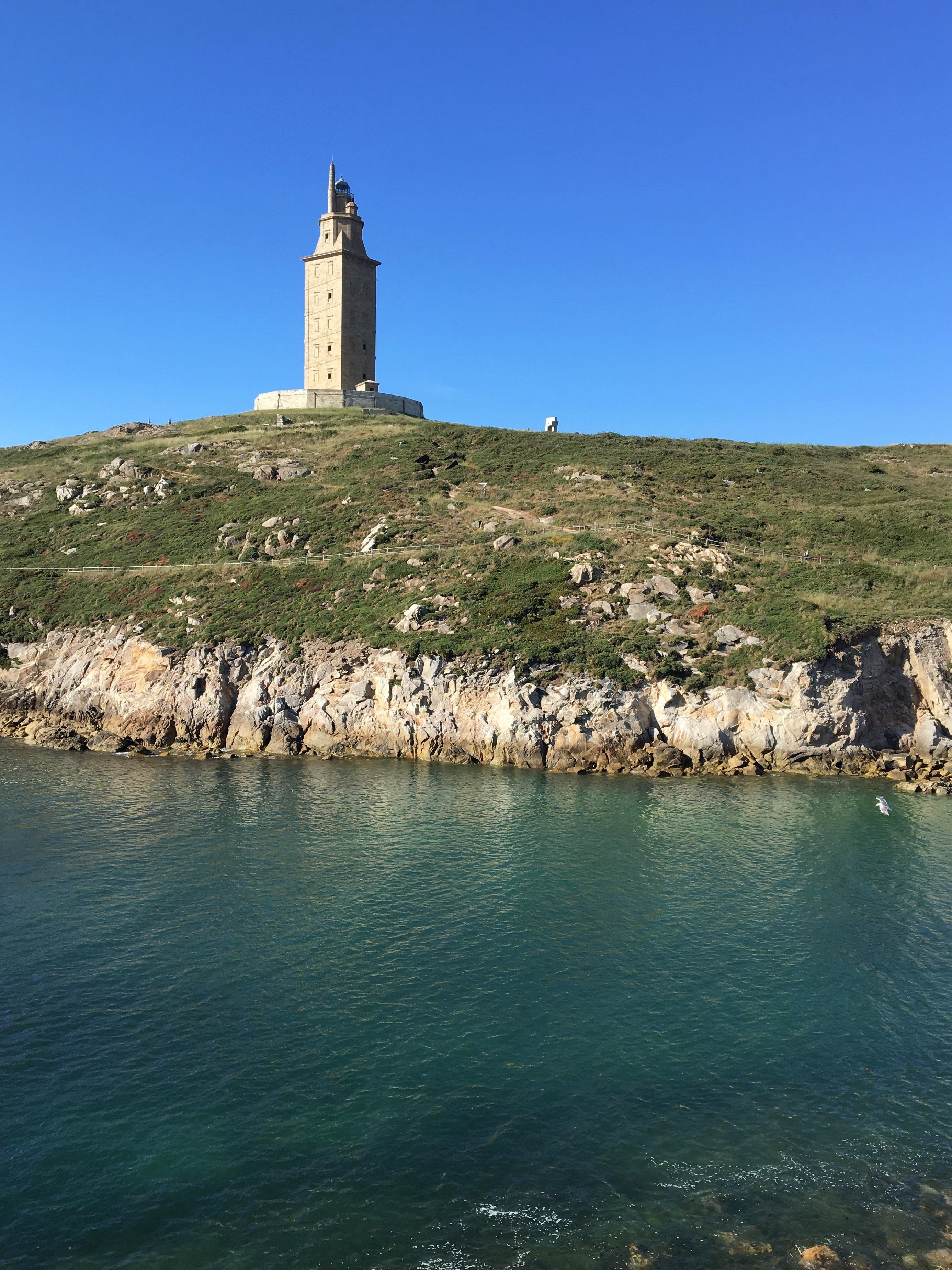 Tower of Hercules in Coruña Spain