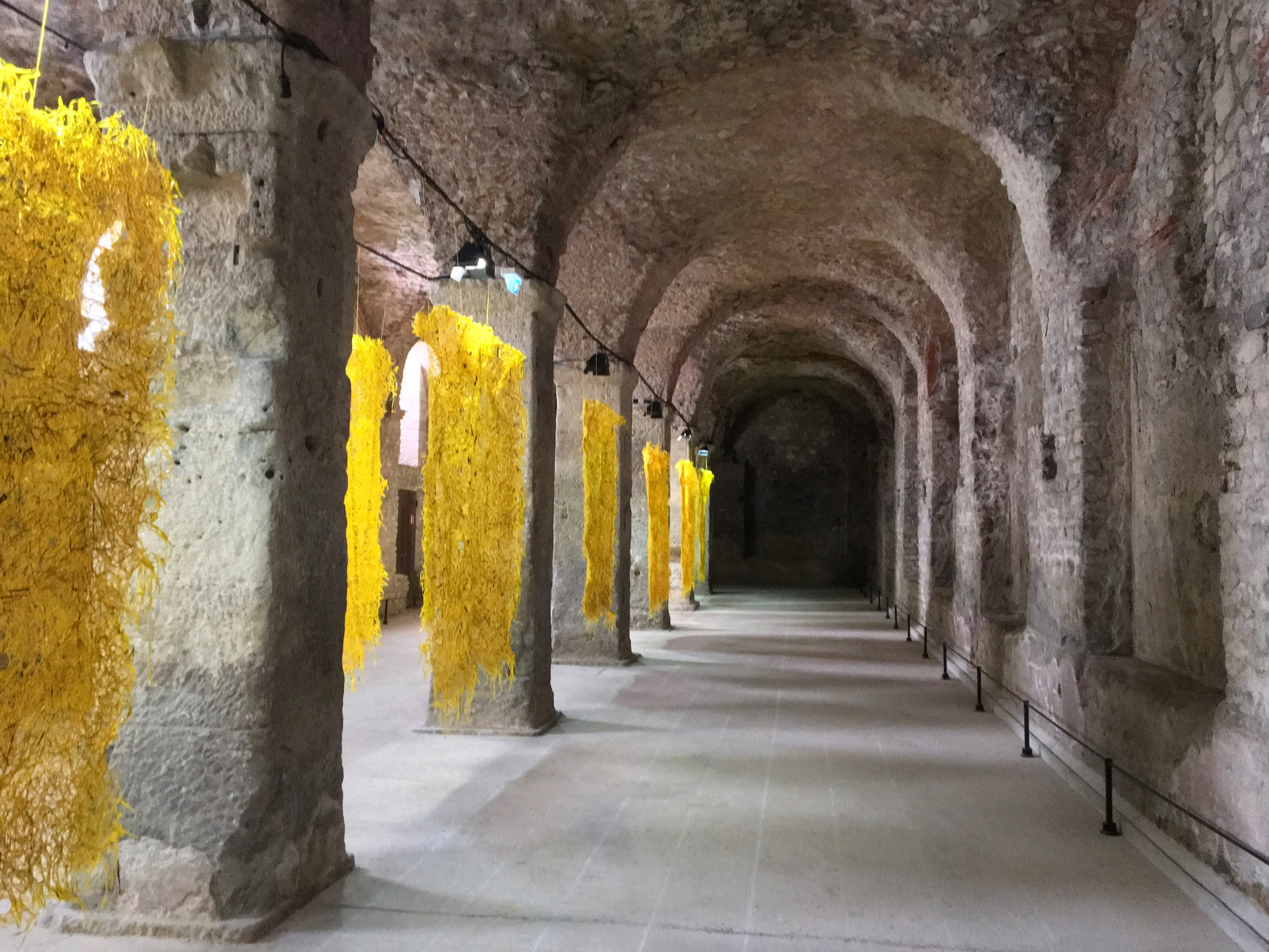 Cryptoporticus in Reims France