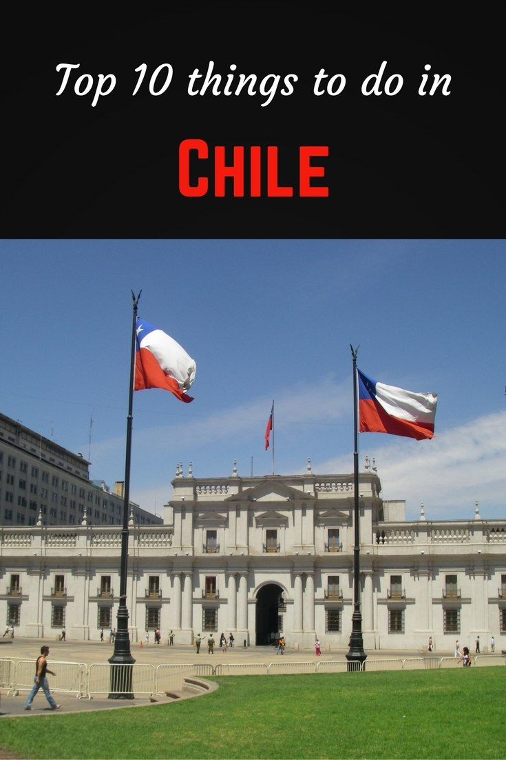Top 10 Chile Pinterest pin