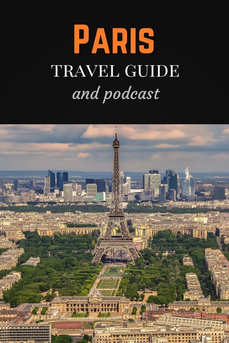 Paris travel guide Pinterest pin