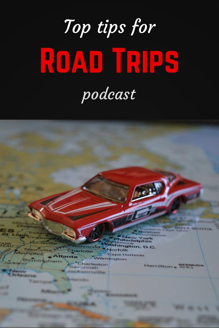 Top tips for road trips Pinterest pin