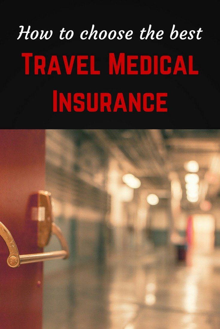 How to choose the best travel medical insurance Pinterest pin