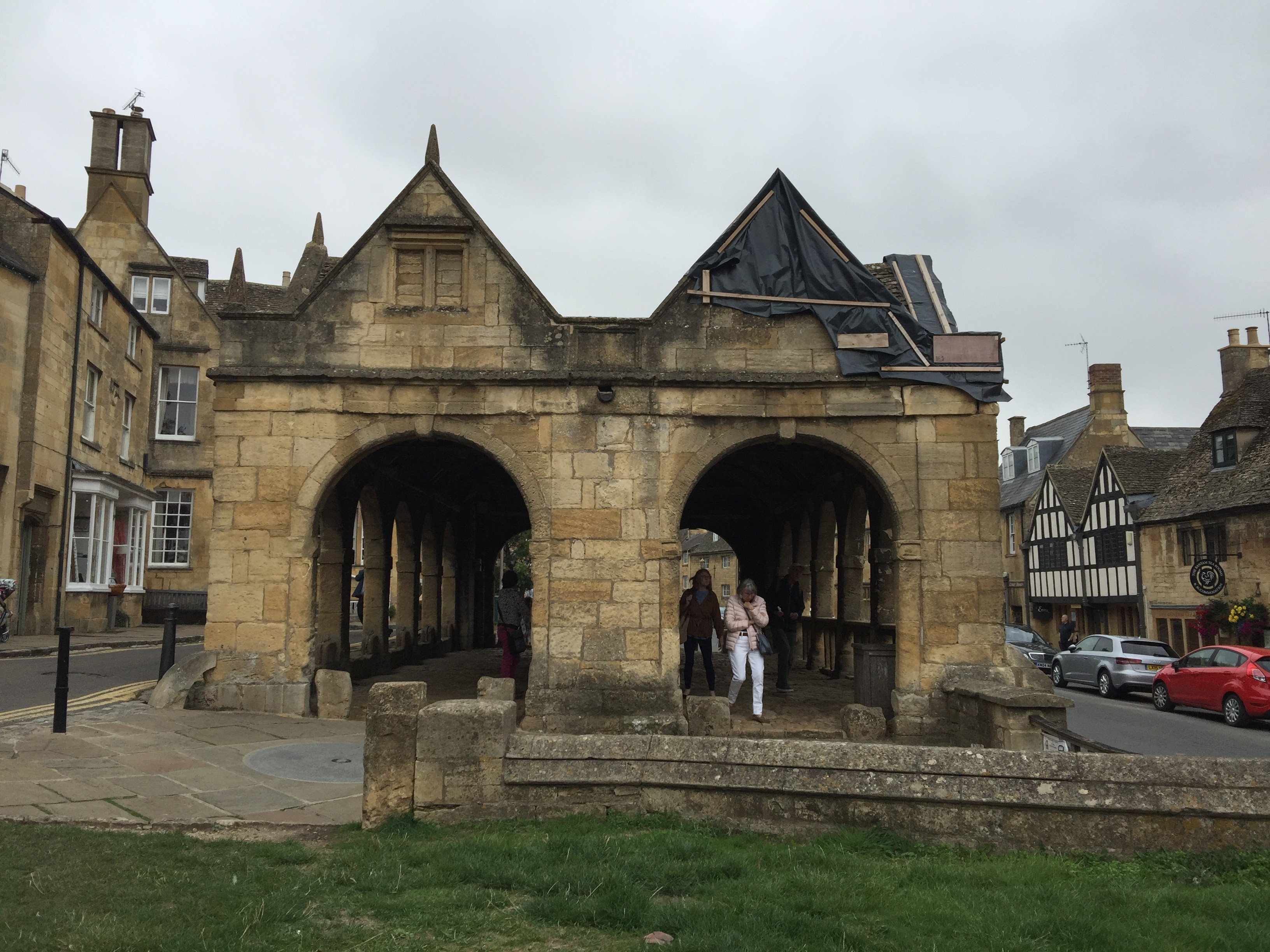 Chipping Camden on the Cotswold Way