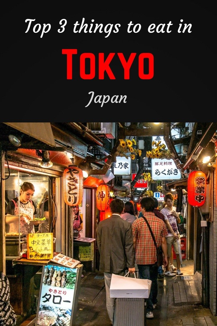 What to eat in Tokyo Pinterest pin