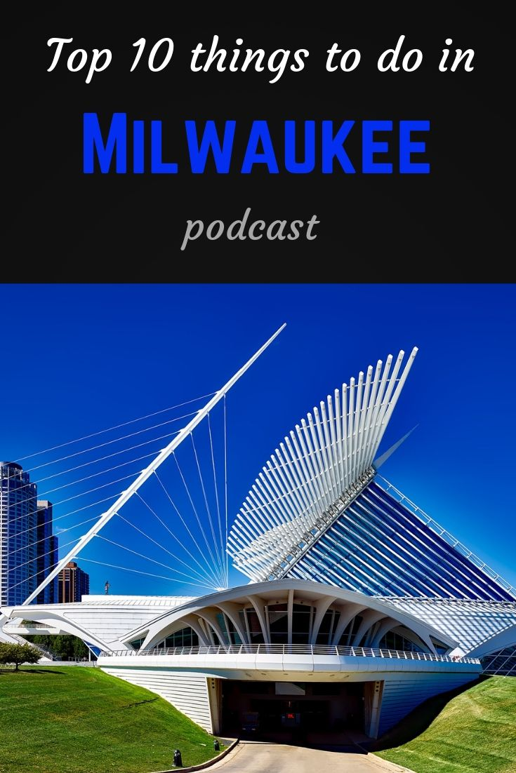 Top 10 Milwaukee Pinterest pin