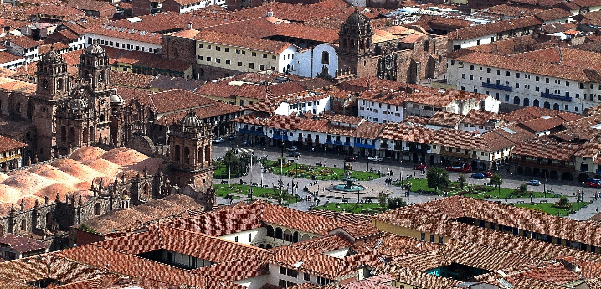 Cusco is an attractive city that's easy to walk around.