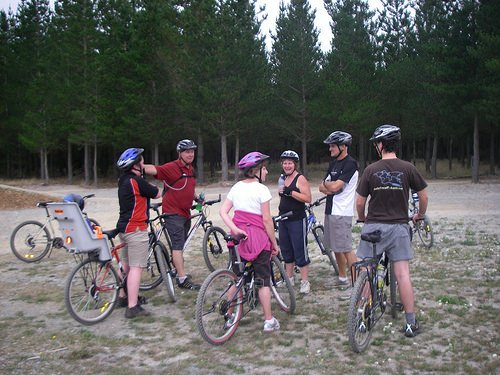 Mountain biking, McLean's Island