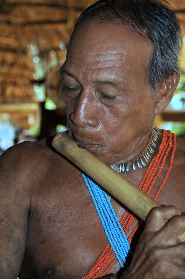 Elder of the Emberá Parara Puru of Panama