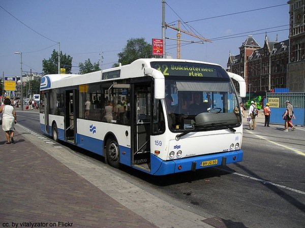 Amsterdam city bus by vitalyzator on Flickr