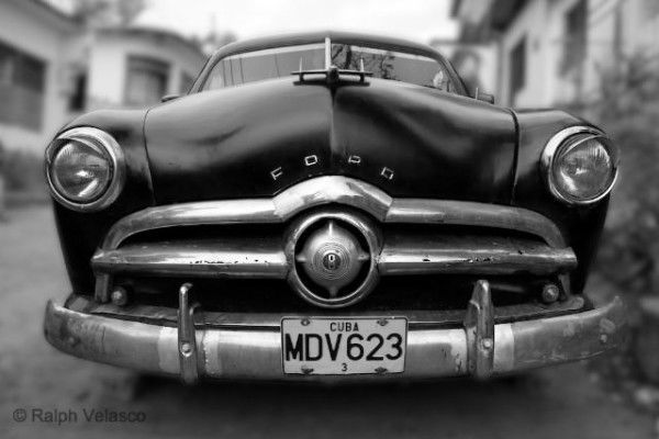 An American in Cuba  in Black and White - Trinidad, Cuba