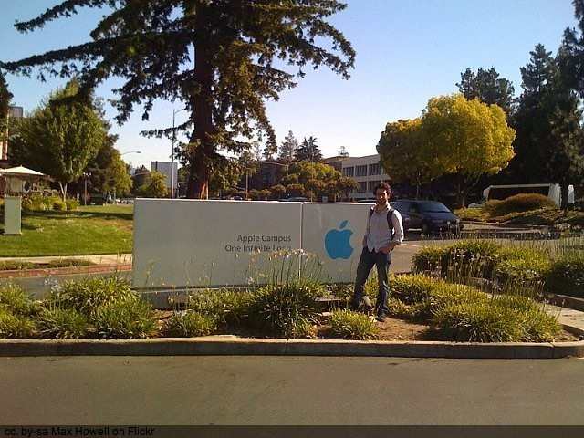 Apple in Palo Alto by Max Howell