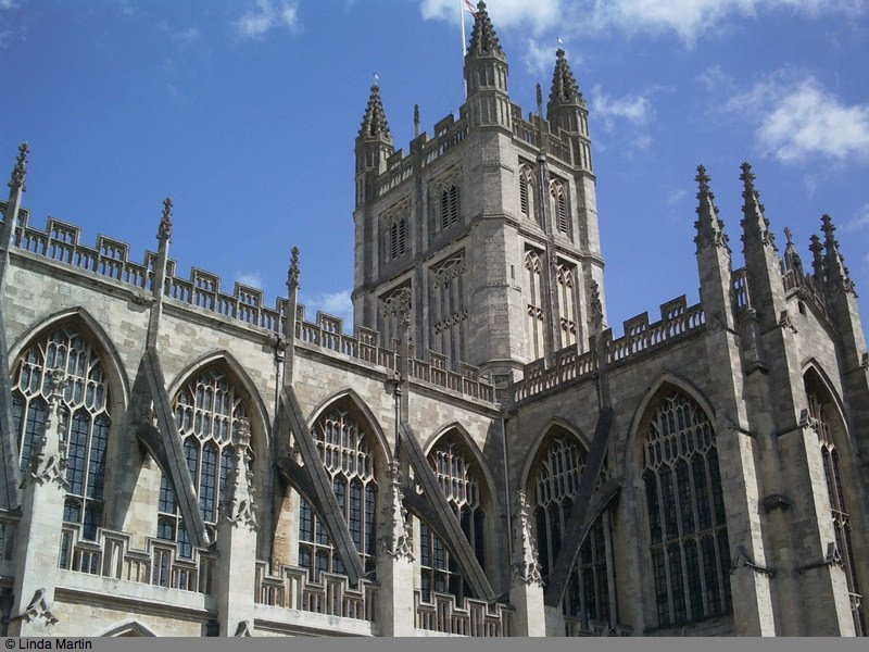 Bath Abbey, Bath, England, UK