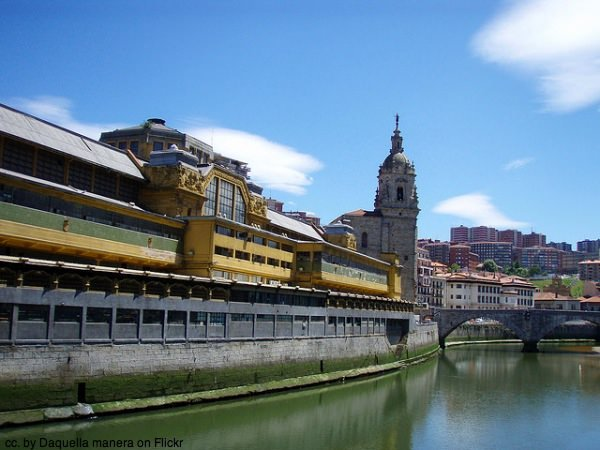 Bilbao from the river