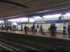 Buenos Aires subte station