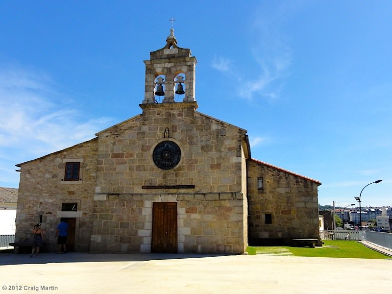 Camino de santiago church Spain