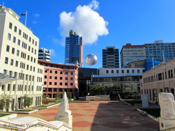 Civic Square wellington new zealand