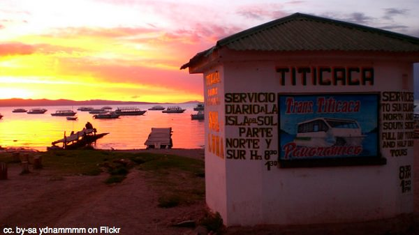 Copacabana tours on Lake Titicaca Bolivia by ydnammmm on Flickr